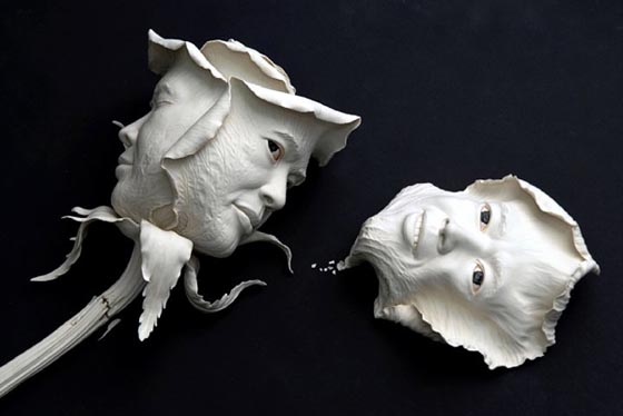 Creative Ceramic Sculptures by Johnson Tsang from Hong Kong.