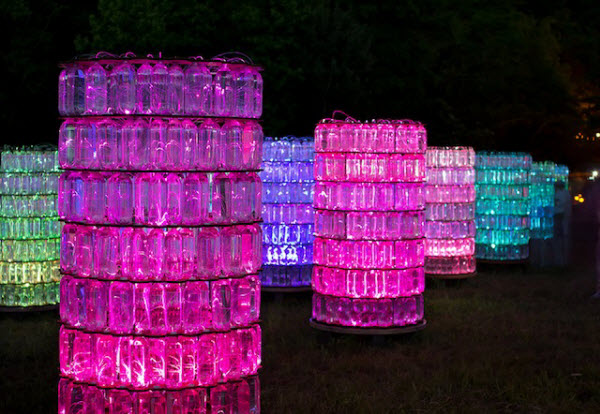 Spectacular Light Garden By Bruce Munro in Pennsylvania