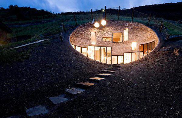 Amazing House inside a Mountain in Switzerland   Amazing ezone