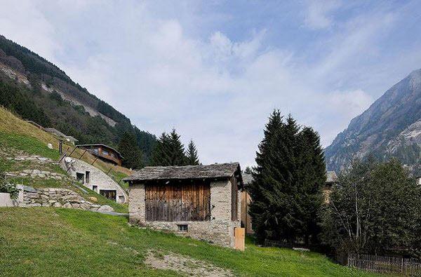 Amazing House inside a Mountain in Switzerland | Amazing ezone