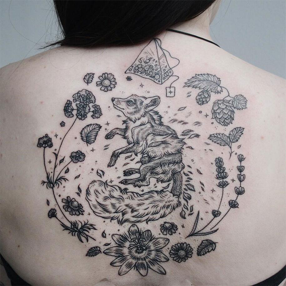 Animal-Plant-Tattoos-Pony-Reinhardt-Tenderfoot